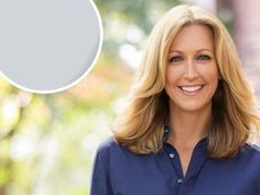 """""""This light gray shade reminds me of a chilly, winter sky, and always gives me a sense of calm and quiet."""" — Lara Spencer, host of HGTV's Flea Market Flip."""