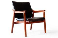 Tove & Edv. Kindt-Larsen Thorald Madsen Teak Easy Chair