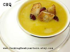 Butternut Squash Soup www.etsy.com/...