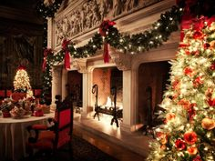Whimsical Home & Garden   The Biltmore at Christmas