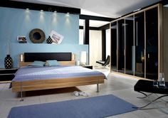 Interior Modern Blue Bedroom bedroom tv table design ideas 2017 2018 pinterest blue modern bedroom