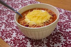 Turkey Chili....anyone else have any awesome chili recipes? what-s-a-diet