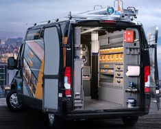 Van Storage, Trailer Storage, Truck Storage, Mobile Garage, Van Organization, Van Shelving, Van Racking, Mobile Car Wash, Work Trailer