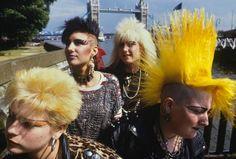 punk girls in london