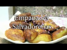 Empanadas Salvadorenas dulces. Video in Spanish. Sweet Salvadorean empanada pies.