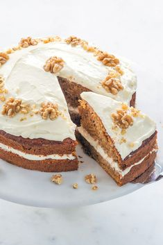 Best Cake Recipes, Sweet Recipes, Good Food, Yummy Food, Healthy Food, Savoury Baking, Kid Friendly Meals, Carrot Cake, Kids Meals