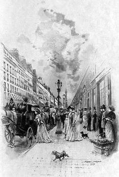 Rue de la Paix, Paris, 1902, by François Courboin