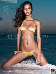 GQ South Africa August 2015 - Model Lais Riberio