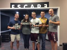 This group broke their friend out of prison and escaped Breakout in 52 minutes! http://escaperoombcs.com/rooms?utm_content=buffer4da84&utm_medium=social&utm_source=pinterest.com&utm_campaign=buffer