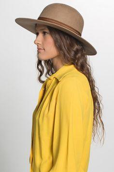 Brixton (Tan) Magdalena Hat Brixton, Panama Hat, Citizen, Hats, Accessories, Fashion, Moda, Hat, Fashion Styles