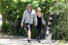 miley cyrus..she has a husky and Liam Hemsworth...two things I want in life!