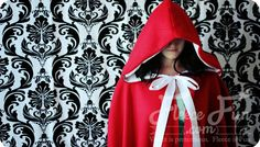 This Red Riding Hood cape pattern is one of Fleece Fun's most popular. The circular half cape is perfect for going to grandmother's house in – it's warmth will keep the chill from nipping, but not necessarily wolves. This half cape can be made at different lengths (and materials) to get...