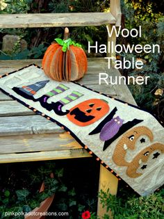 Wool Applique Hallow