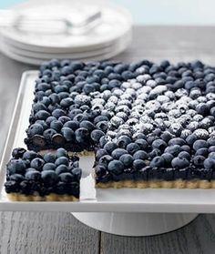 Blueberries...need I say more??? 20 Tasty Tart Desert Recipes