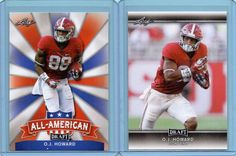2017 Leaf Draft Rookie Lot X2 O.J. Howard All American / Base Buccaneers INV0032 | Sports Mem, Cards & Fan Shop, Sports Trading Cards, Football Cards | eBay!