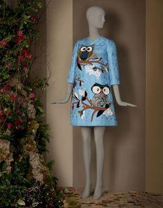 ABITO TUNICA RICAMO ANIMALETTI | Dolce&Gabbana Online Store