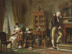 Rejection by William Bromley III (British, fl.1835-1888), 1868. Bonhams