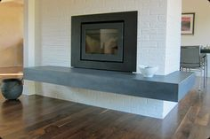 Floating Fireplace Hearth