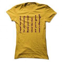 I am a Massage Therapist D1 T Shirts, Hoodies, Sweatshirts. CHECK PRICE ==► https://www.sunfrog.com/LifeStyle/I-am-a-Massage-Therapist-D1-8109-Yellow-29799866-Ladies.html?41382