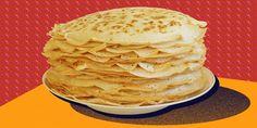 8 рецептов нежных и тонких блинов - Лайфхакер Pancakes, Good Food, Breakfast, Ethnic Recipes, Foods, Desserts, Bulgur, Bakken, Morning Coffee