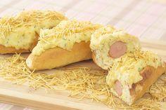Hot Dog de Forno com Purê Cremoso