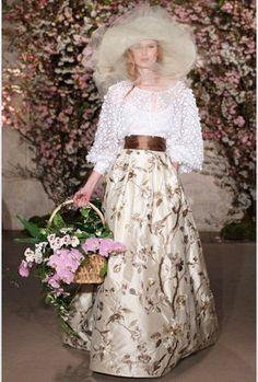 oscar de la renta 2012 robe de soiree | Tenue - Robes de mariée - Robe de mariée…