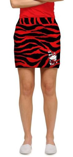 Loudmouth Golf skorts are fun! A cotton-spandex blend, LM skorts are cute, stylish and flattering. Perfect for a round of golf or a day with the girls. Hello Kitty Clothes, Hello Kitty Items, Hello Cat, Golf Skirts, Mini Skirts, Cute Golf Outfit, Tarzan, Ladies Golf, Sanrio