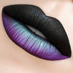 "3,132 Likes, 30 Comments - MUA Cosmetics (@muacosmetics) on Instagram: ""Halloween Lip Art created by the lovely @karlapowellmua using our Matte Metallic Lip Lacquers -…"""