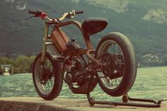 Strong Moped via Kustom Performance & co - Pin by Corb Motorcycles