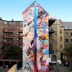 "@pichiavo Eros/Cupid mural ""love desire"""