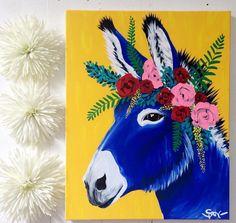 www.pegasebuzz.com | Interior decor : Spring Whitaker - donkeys.