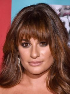 Lea Michele - Hair Color