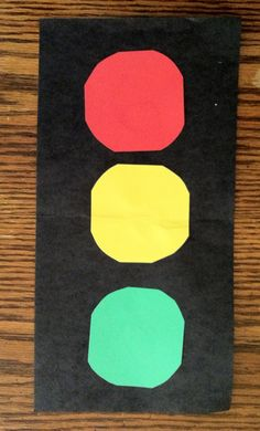Traffic Light Safety Lesson