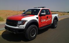 Ford F-150 Raptor Finds A Perch With Abu Dhabi Police
