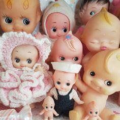 Kewpish love 💖 happy #tuesday Vintage Stuff, Vintage Dolls, Kewpie, Vanitas, Happy Tuesday, Maleficent, Stand By Me, Vintage Antiques, Masks