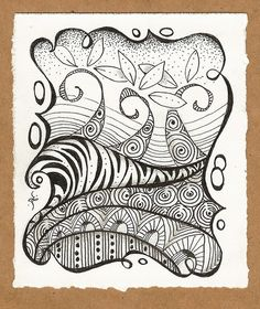 Tangles for Cards | Flickr - Photo Sharing!