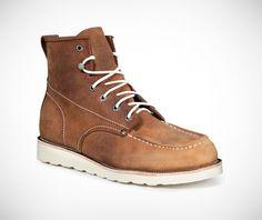 Durango Boots Auburn - Leather Welt, Lightweight, flexible EVA wedge outsole, Oiled aniline full-grain leather