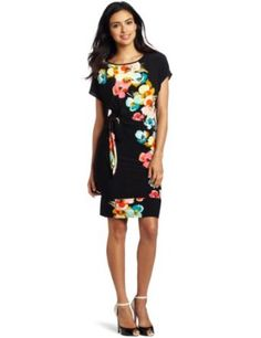 Tiana B Women's Fabulous In Floral Dress