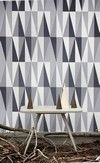 Gray is my new favorite color. Love the shading and geometric pattern.