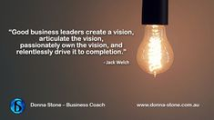 #BusinessCoach #Articulate the vision