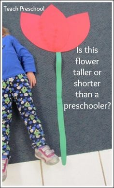 14 fun flower activities for preschoolers | Teach Preschool  EASY TO DO! Even our 2 year olds made one.