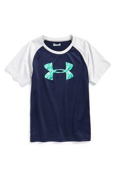 Under Armour  Jagged Logo  HeatGear® T-Shirt (Toddler Boys  amp  761797a9e21c0