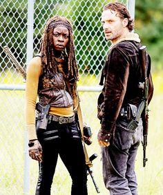 The Walking Dead - Rick & Michonne