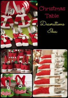 Christmas Table Decoration Ideas - iSaveA2Z.com