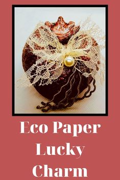 Lucky Charm 2020 Handmade Accessories, Handmade Jewelry, Handmade Gifts, Lucky Charm, Diy Videos, Charmed, Business Products, Paper, Creative
