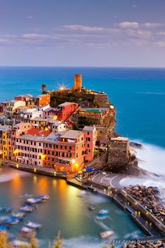 Beautiful Views of Vernazza, Cinque Terre Italy