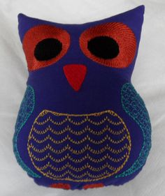 Owl – Machine Embroidery and Digitizing