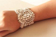 Bridal jewelry - Parl bracelet from MillieIcaro