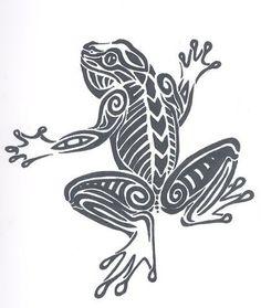 cute frog tattoos | Pin Frog Tattooscute Tattoosfrog Tribal Designs Claudettes Tattoo on ...