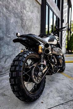 Triumph Scrambler Custom, Triumph Street Scrambler, Motor Cafe Racer, Moto Bike, Ride Or Die, Moto Style, Road Bikes, Custom Bikes, Athens